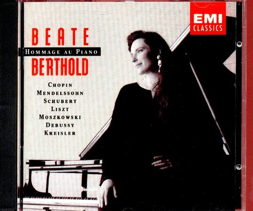 Beate Berthold / Hommage au Piano (수입/미개봉/5550452)