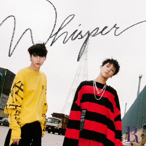 빅스 엘알 (Vixx LR) / Whisper (2nd Mini Album) (미개봉)