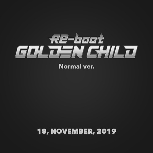 골든 차일드 (Golden Child) / 1집 - Re-boot (Normal Ver./미개봉)