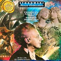 Leopold Stokowski / Prokofiev : Selections from Romeo and Juliet & Menotti : Sebastian (Suite) (수입/09026625172)