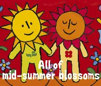 V.A. (Tribute) / All Of Mid-Summer Blossoms (3CD/수입/미개봉/프로모션)