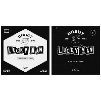 바비 (BOBBY) / 2nd FULL ALBUM [LUCKY MAN] (A/B Ver. 랜덤 발송/미개봉)