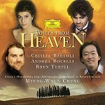 Andrea Bocelli, Cecili Bartoli, Bryn Terfel, 정명훈 (Myung-Whun Chung) / Voices From Heaven - Hymn For The World 2 (수입/4591462)