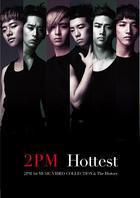 [DVD] 투피엠 (2PM) / Hottest - 2PM 1st Music Video Collection & The History (2DVD/양장반/일본수입)