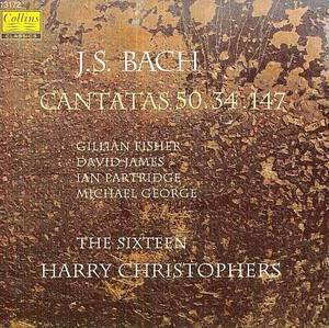 Harry Christophers, The Sixteen / 바흐: 칸타타 34, 50. 147번 (Bach: Cantatas 34, 50, 147) (수입/13172)