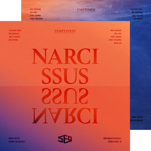 에스에프나인 (SF9) / Narcissus (6th Mini Album) (Temptation/Emptiness Ver. 랜덤 발송/미개봉)
