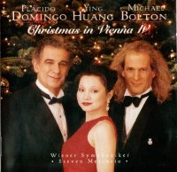 Placido Domingo, Ying Huang, Michael Bolton / Christmas in Vienna IV (수입/SK63214)
